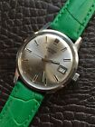 1960s Vintage Oriosa Automatic Mens Watch Silver Dial 34mm Swiss Steel Serviced!