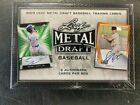 2019 LEAF METAL DRAFT BASEBALL FACTORY SEALED HOBBY BOX 6 AUTOS