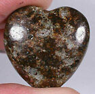 Heart Pendant made from NWA 869 Meteorite