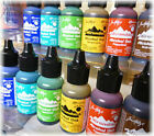 Tim Holtz Alcohol Ink 6 new Earthtone colors Conservatory  Mariner