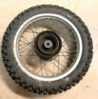 1985 Honda XL350R XL350 Rear Wheel Tire Sprocket 85