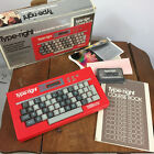 New Vintage 70s 80s Vtech Type right Learning Toy in Box Computer Keyboard Kids