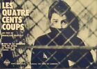 Les 400 COUPS 400 BLOWS Japanese press movie poster FRANCOIS TRUFFAUT RARE 1959