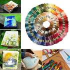 100/250Pcs Multi Colors Cross Stitch Cotton Embroidery Thread Floss Sewing Skein