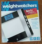 weight watchers glass scale body analysis fat BMI memory WW52Y