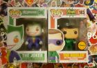DC Comics The Joker and The Riddler (Chase) Funko Pop