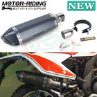 Motorcycle Aluminum Exhaust Muffler Tip Tail Pipe Slip On 38mm-51mm For Suzuki