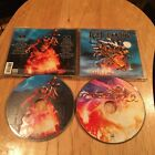 Iced Earth - Alive In Athens 2CD 1st US press blind guardian iron maiden helstar