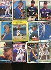 GERALD YOUNG LOT OF 25 ALL DIFFERENT ASTROS HOUSTON TELE HONDURAS
