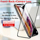 Full Glue Cover Glass For iPhone 11 XR XS Max X 8 7+ 6S Plus 5S Screen Protector