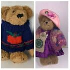 Boyds Bears Lot of 2 The Archive Collection  Dexter & Bailey Bearwear