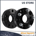 2Pcs WHEEL SPACERS 5X5 HUBCENTRIC 15 INCH 38MM For Jeep Wrangler JK Rubicon