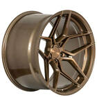 4 19x95 19x11 Staggered Rohana Wheels RFX11 Brushed Bronze Rims B7
