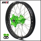 KKE 2.15*18 Enduro Rear Wheel Rim for KAWASAKI KX250F KX450F 2006-2019 Green Hub