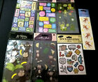 Scrapbooking Craft Stickers all Are New Sealed Multi Brands 7 Packs