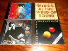Lot of 4 Paul McCartney CDs; Tug Of War, Venus and Mars + At the Speed of Sound