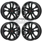 19 GMC TERRAIN GLOSS BLACK WHEELS RIMS FACTORY OEM 5899 2018 2020 SET