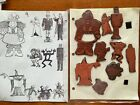 Lot 93 Rubber Stamps Holidays Halloween Valentine Easter Thanksgiving Unmounted