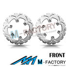 Front Brake Disc Rotor x2 Fit KAWASAKI Z 750 TURBO 84-86 84 85 86