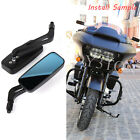For Harley Davidson Street Glide Special FLHXS Black Motorcycle Rearview Mirrors