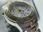 Sector Snl 550 Chrono Sec Alarm White Dial Sapphire Crystal Men's Watch