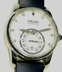 Union Glashütte SA Automatik Damenuhr Brillanten Glasboden D004.228A Dau / 36 mm