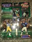 Starting Lineup 2000 Marshall Faulk Eddie George Classic Double with Trophy