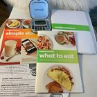 Weight Watchers Lot 2 Books Simple Start What to Eat  Points Plus Calculator