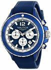Nautica Men's NST Chronograph Multifunction Blue Stainless Steel 49mm Watch