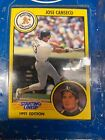 1991 Starting Lineup Jose Canseco set