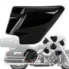 Black Side Cover Panel w/ Grommets For Harley Touring Road King Classic FLHRC