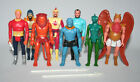 Mattel Flash Gordon vintage lot 8 figures Lizard Woman Ming Vultan Thun Zarkov +