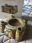 NEW CHRISTMAS ADVENT CANDLEHOLDER NATIVITY FAMILY CHRISTIAN STORES IN BOX