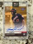 2019 TOPPS NOW AUTO CARD 1 1 WORLD SERIES TEAM SET CARD NATIONALS HOWIE KENDRICK