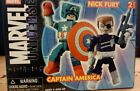 Marvel Mini Mates Captain America and Nick Fury New in original package