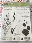 Stampin Up Retired  GIFT OF LOVE NEW Photopolymer Stamp Set