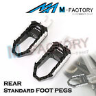 Fit MV Agusta 1078RR 989R Brutale 08+ Rear Wide Travel Foot Pegs Pedals