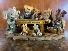 Boyds Bears & Friends Noah And Co Ark Builders SPECIAL EDITION  1996 #2278 NIB