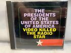 Presidents of The United States Video Killed The Radio Star CD (PROMO Single)