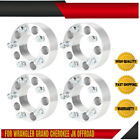 4pcs Jeep 5x5 Wheel Spacers 2 For Wrangler Grand Cherokee JK Offroad Forged