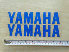 Blue 20cm Tank Fairing  Badge  Decal  For Yamaha Motorcycles