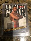 Rich Franklin Cards and Autographed Memorabilia Guide 10