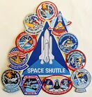 Space Shuttle Collage Spacelab Challenger Endeavour Atlantis Large 10X10 Patch