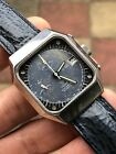 Vintage Yema Y10 Automatic Chronograph Mens Watch Great Patina Val.7754 35,8mm