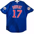 MAJESTIC Authentic SIZE 48 XL, Chicago Cubs BLUE, KRIS BRYANT Cool Base Jersey