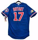 Authentic! Majestic SIZE 52 2XL CHICAGO CUBS, TBTC, KRIS BRYANT, ON FIELD JERSEY