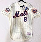 Authentic Majestic 56 3XL, NEW YORK METS GARY CARTER COOL BASE SHEA PATCH Jersey