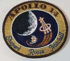 Apollo 14 Shepherd Roosa Mitchell Mission PATCH Hallmarked LION Brothers NASA
