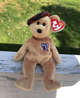 Ty Beanie Baby ~ ChariTee the 2004 PGA Tour Bear (8 inch) Mint Tags ~ Plush Toy