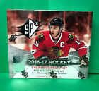2016-17 UPPER DECK SPX HOCKEY SEALED HOBBY BOX